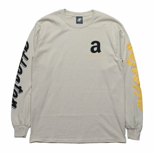 AFFECTER / JUNGLE L/S TEE (SAND)