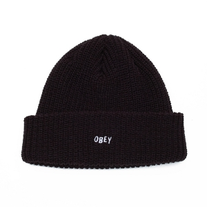 OBEY / JUMBLED BEANIE (BLACK)