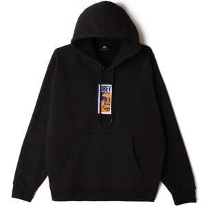 OBEY / OBEY SLIM ICON PULLOVER HOODIE (BLACK)