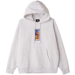 OBEY / OBEY SLIM ICON PULLOVER HOODIE (ASH GREY)