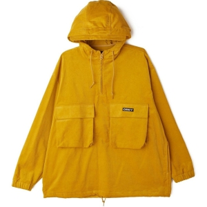 OBEY / SHINER ANORAK JACKET (GOLDEN PALM)