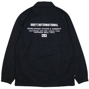 OBEY / EXPIRE BDU JACKET (BLACK)