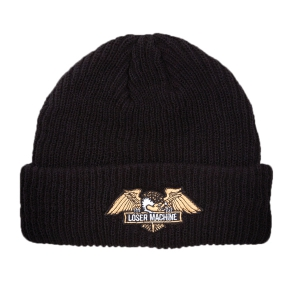 LOSER MACHINE / FRANK BEANIE (BLACK)