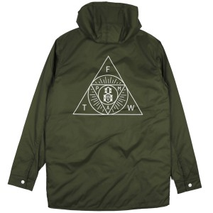 REBEL8 / SECT HOODED PARKA (ARMY)