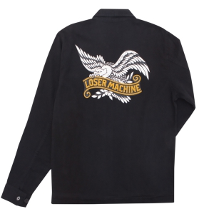 LOSER MACHINE / LA MESA PRINTED JACKET (BLACK)