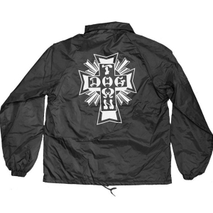 DOGTOWN / CROSS LOGO WINDBREAKER (BLACK)