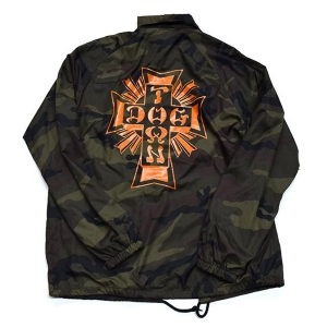 DOGTOWN / CROSS LOGO WINDBREAKER (CAMO)