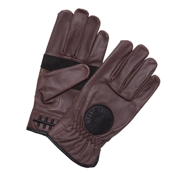 LOSER MACHINE / DEATH DRIP GLOVE (BROWN)