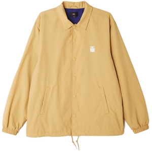 OBEY / ICON COACHES JACKET (ALMOND)