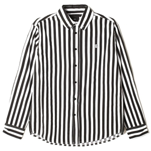 OBEY / 89 ICON STRIPE WOVEN L/S SHIRT (BLACK MULTI)