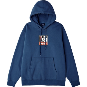 OBEY / OBEY EXCLAMATION POINT PULLOVER HOODIE (SLATE BLUE)