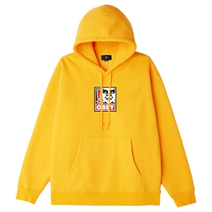 OBEY / OBEY EXCLAMATION POINT PULLOVER HOODIE (GOLD)