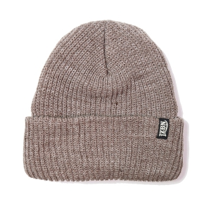 LZBN / STANDARD BEANIE (BROWN HEATHER)