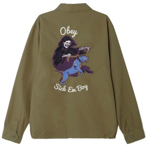 OBEY / REAPER JACKET (ARMY)