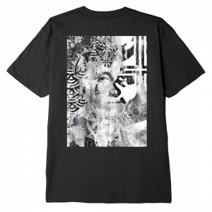 OBEY / C.R.E.A.M. ICONS CLASSIC TEE (BLACK)