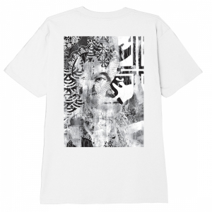OBEY / C.R.E.A.M. ICONS CLASSIC TEE (WHITE)