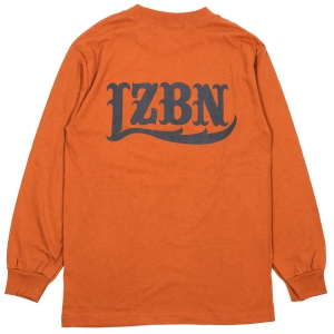 LZBN / LZBN BACK LOGO L/S TEE (T.ORANGE)