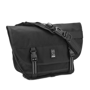 CHROME / MINI METRO MESSENGER BAG (ALL BLACK)