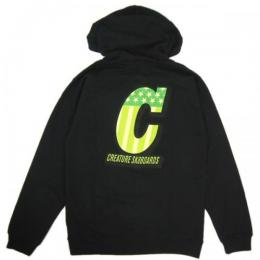 CREATURE / LIVE TO RIDE PULLOVER HOODIE (BLACK)