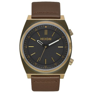 NIXON / THE BRIGADE LEATHER (BRASS/BLACK/TAUPE)