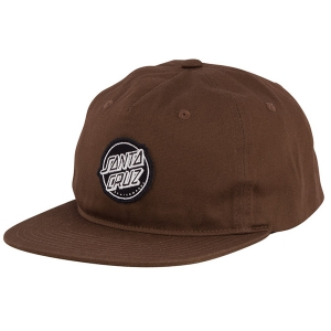 SANTA CRUZ / APTOS SNAPBACK CAP (DARK TAN)