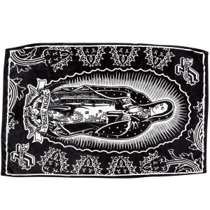 SANTA CRUZ / GUADALUPE BLANKET (BLACK/WHITE)