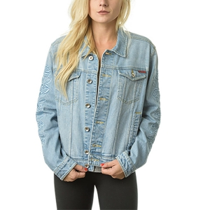 SANTA CRUZ / ROSA DENIM JACKET (WASHED DENIM)