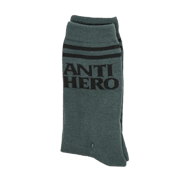 ANTIHERO / BLACKHERO IF FOUND SOCKS (DARK ARMY/BLACK)
