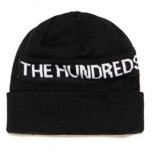 THE HUNDREDS / SIMON BEANIE (BLACK)