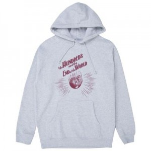 THE HUNDREDS / DOOMSDAY PULLOVER HOODIE (ATHLETIC HEATHER)