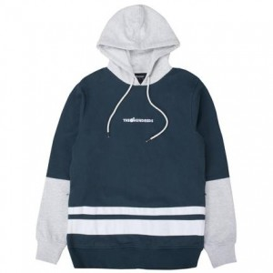 THE HUNDREDS / CRANE PULLOVER HOODIE (BLUE)
