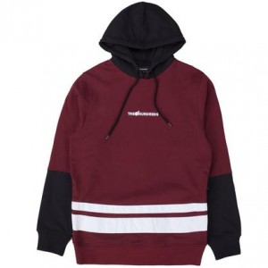 THE HUNDREDS / CRANE PULLOVER HOODIE (BURGUNDY)