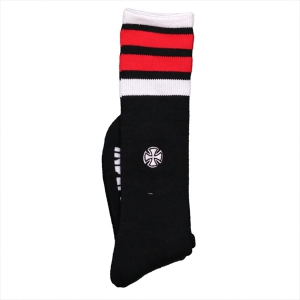 INDEPENDENT / INDY CHARGED CREW SOCKS (BLACK)