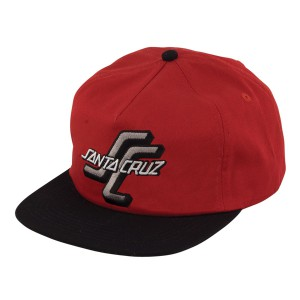 SANTA CRUZ / THE OGSC SNAPBACK CAP (CARDINAL/BLACK)