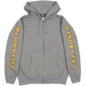 LZBN / FRAME ZIP-UP HOODIE (H.GREY)