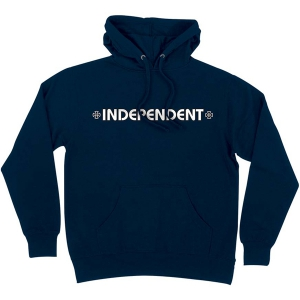 INDEPENDENT / BAR/CROSS PULLOVER HOODIE (NAVY)
