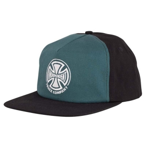 INDEPENDENT / TRUCK CO. EMBROIDERY SNAPBACK CAP (FOREST/BLACK)