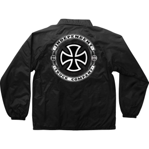INDEPENDENT / STEADY COACH WINDBREAKER JACKET (BLACK)