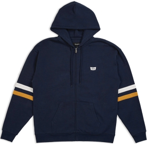 BRIXTON / STITH HOOD ZIP FLEECE (NAVY)