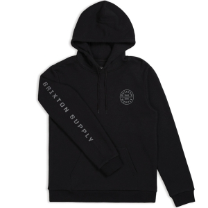 BRIXTON / OATH II HOOD FLEECE (BLACK)