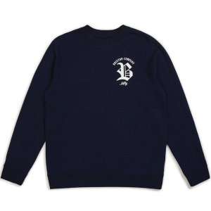 BRIXTON / RAWSON CREW FLEECE (NAVY)