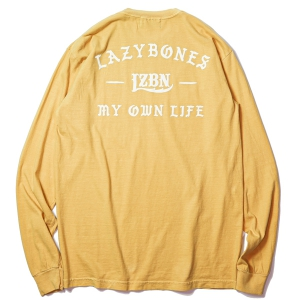 LZBN / ANCIENT GARMENT DYED L/S TEE (MUSTARD)