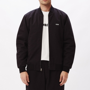 OBEY / EAST BOMBER JACKET (BLACK)