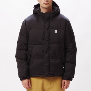 OBEY / FELLOWSHIP PUFFER JACKET (BLACK MULTI)
