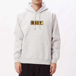OBEY / OBEY SUBVERT PULLOVER HOODIE (ASH GREY)