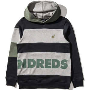 THE HUNDREDS / FIG PULLOVER HOODIE (BLACK)