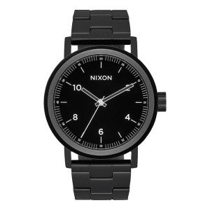 NIXON / THE STARK (ALL BLACK/WHITE)