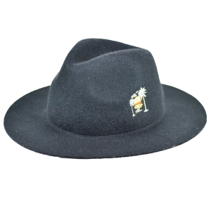 MINOS / SUNSET FLAT FELT HAT (BLACK)