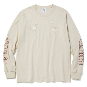 MSML / LONG SLEEVE TEE (BEIGE)
