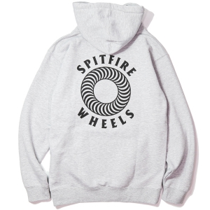 SPITFIRE / HOLLOW CLASSIC PULLOVER HOODIE (GREY HEATHER)